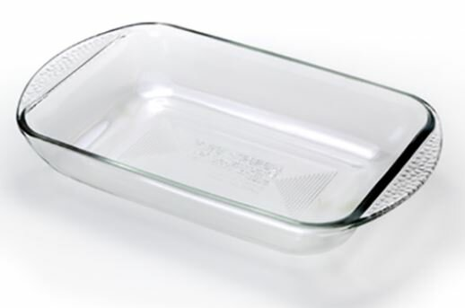 Borosilicate Glass Rectangular Bake Dish by JSG Oceana
