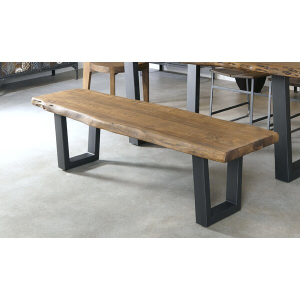 Sonnier Wood Bench by Union Rustic