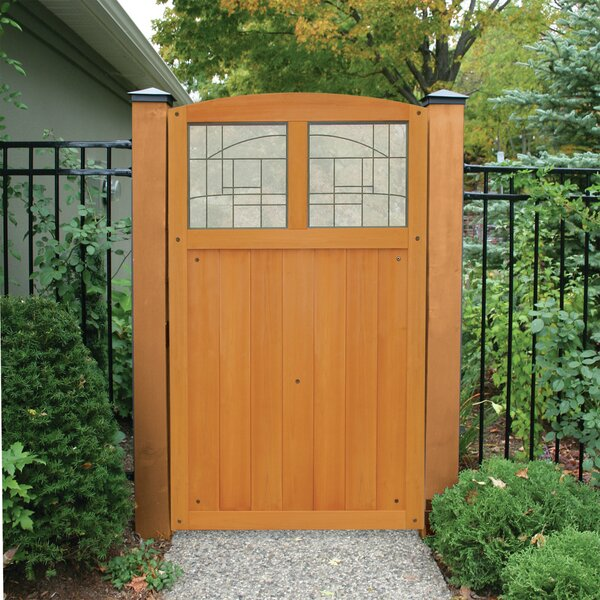 5.5 ft. H x 3.5 ft. W Baycrest Gate by Yardistry