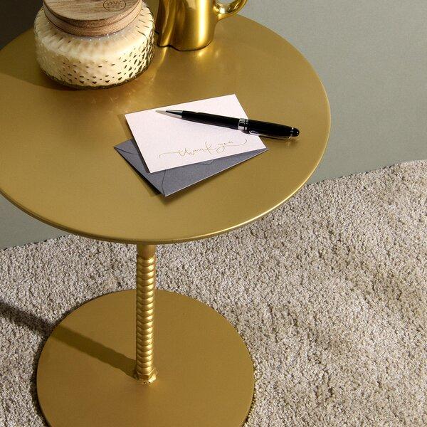 Delisle Pedestal End Table by Mercer41