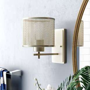 Read Reviews Mulligan 1-Light Armed Sconce By Beachcrest Home