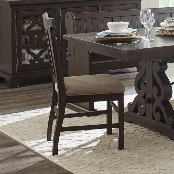 Shepard Traditional Upholstered Dining Chair (Set of 2) by One Allium Way One Allium Way