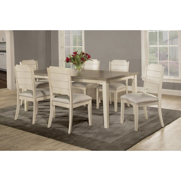 Kinsey 7 Piece Dining Set by Rosecliff Heights Rosecliff Heights