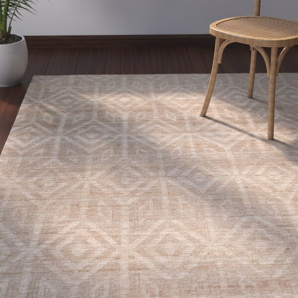 Mora Camel Area Rug by Bay Isle Home