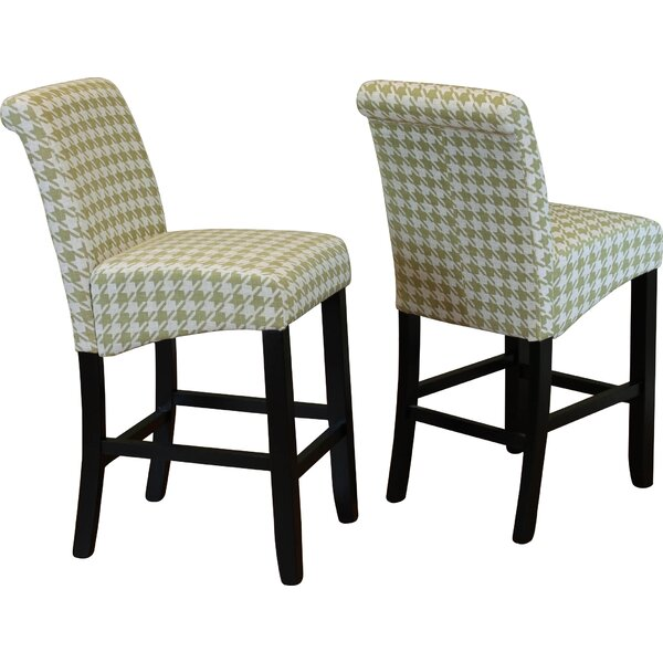 Gauthier 26 Bar Stool (Set of 2) by Andover Mills