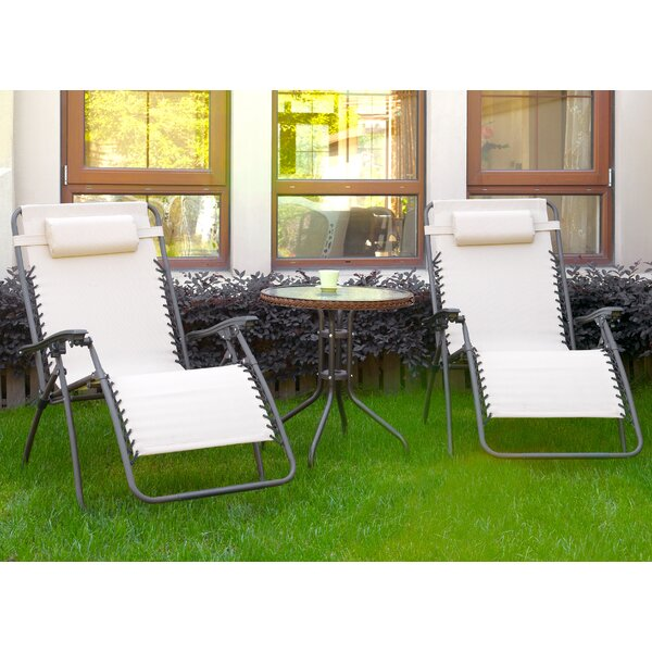 Diana 3 Piece Conversation Set by A&J Homes Studio
