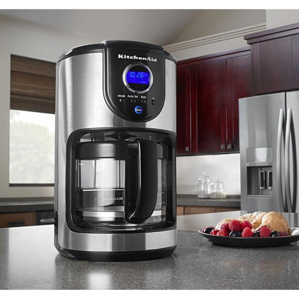 12 Cup Programmable Coffee Maker by KitchenAid
