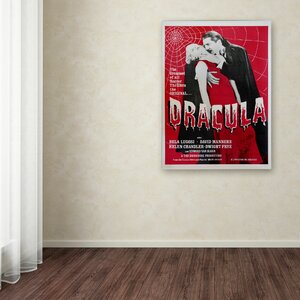 Apple Dracula Vintage Advertisement on Wrapped Canvas by Trademark Fine Art
