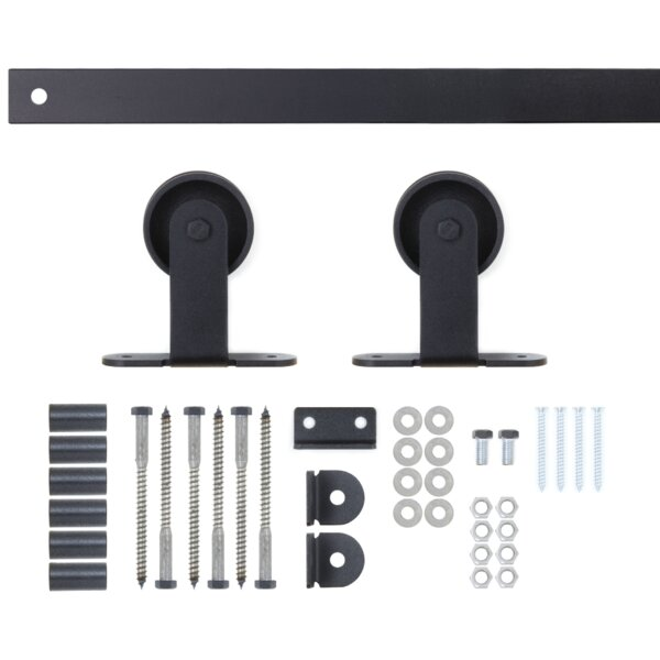 Classic Top Mount Sliding Hardware Set by Artisan Hardware