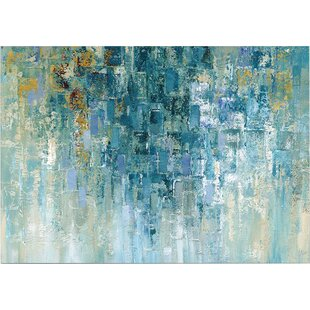 I Love The Rain Painting Print On Wrapped Canvas