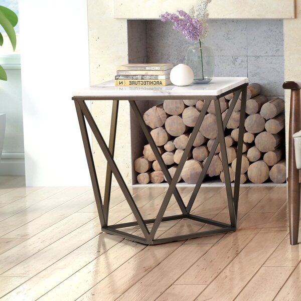 Davies End Table by Brayden Studio