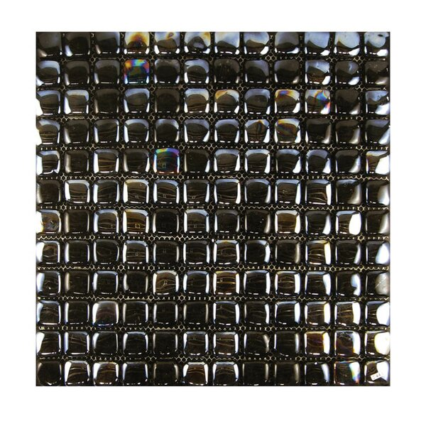Glass Mosaic Tile in Black by QDI Surfaces