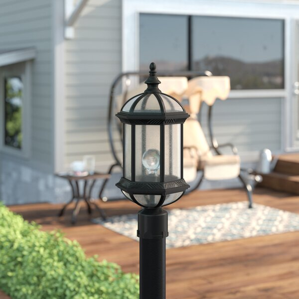 Hausmann 1-Light Lantern Head by Three Posts