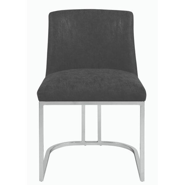 Mondragon Upholstered Dining Chair by Orren Ellis