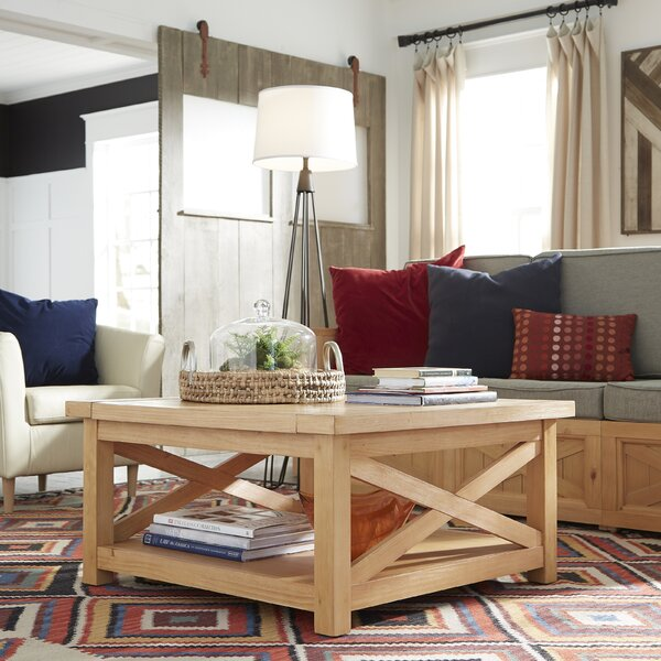Burbury Country Lodge Coffee Table by Loon Peak