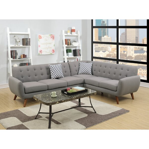 Sunny Side Sectional by Ivy Bronx