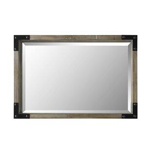Gracie Oaks Shona Industrial Farmhouse Accent Mirror