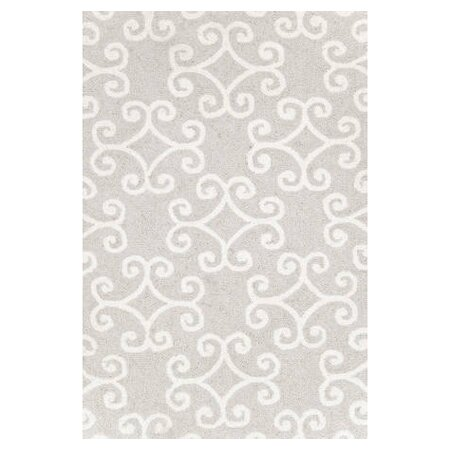 Hooked Grey Area Rug by Dash and Albert Rugs