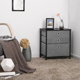 Great choice Alvey 3-Tier Storage Unit End Table By Ebern Designs