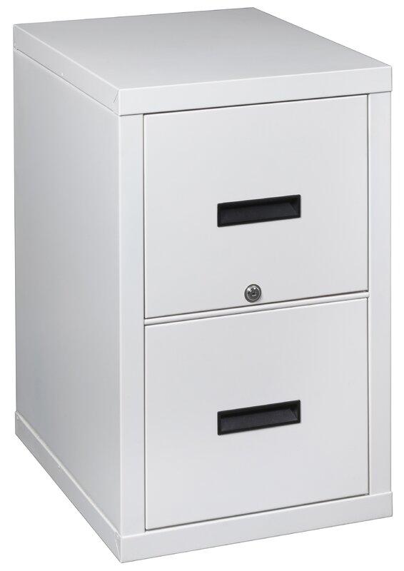 FireShield 2 Drawer Light Weight Fireproof Filing Cabinet