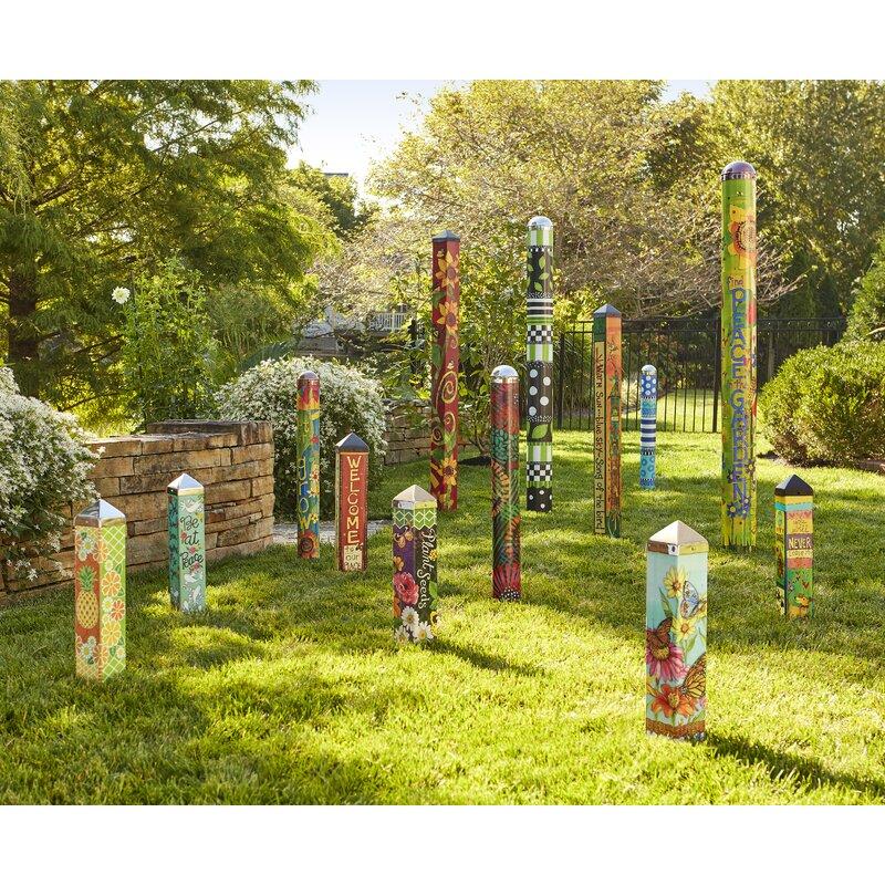 Studio M Plant Seeds Art Pole Garden Stake | Wayfair