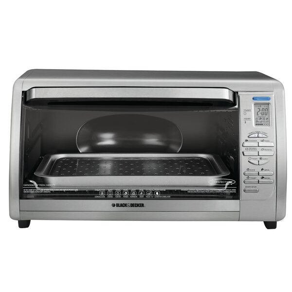 Digital Touchpad Toaster Oven by Black + Decker