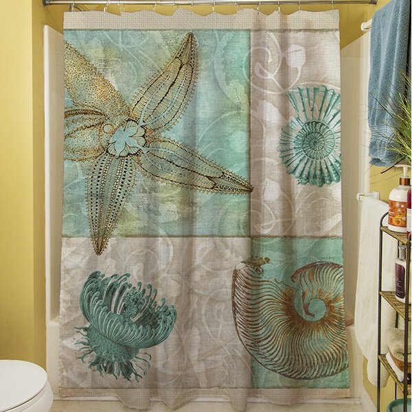 Amherst Shower Curtain by Rosecliff Heights