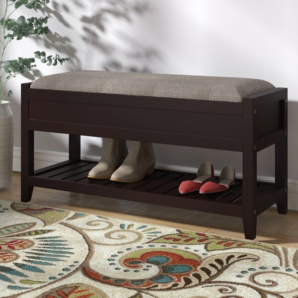 Lambrecht Seating Bench with Shoe Storage by Charl