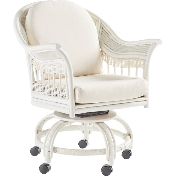 Stover Swivel Armchair by Bay Isle Home