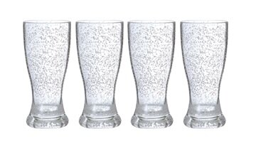 12 Oz. Acrylic Bubble Pint Glass (Set of 4) by Chenco Inc.
