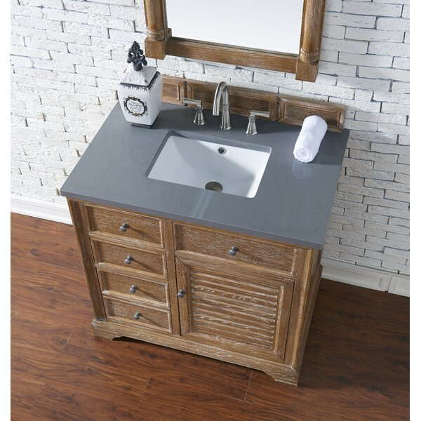 Osmond 36 Single Driftwood Bathroom Vanity Set by GreyleighOsmond 36 Single Driftwood Bathroom Vanity Set by Greyleigh