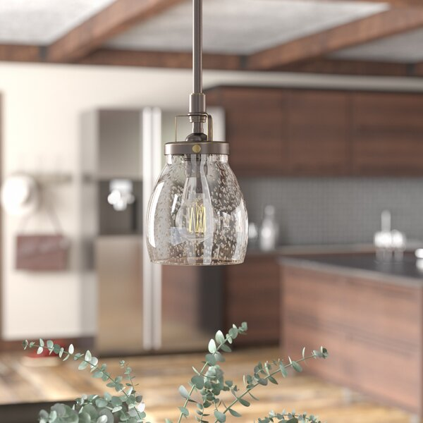 Panorama Point Heirloom Bronze 1-Light Cone Pendant by Trent Austin Design