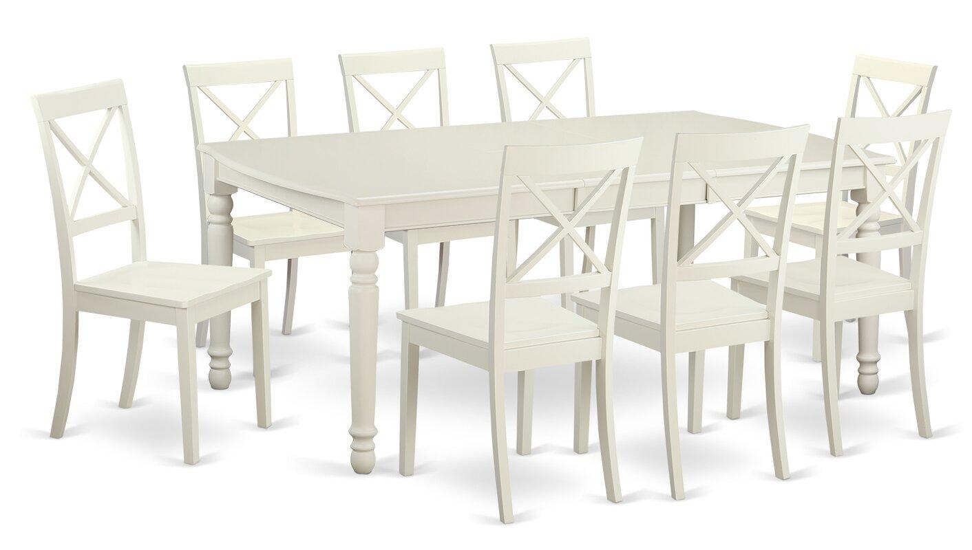 east west dover 9 piece dining set reviews wayfair 9 piece kitchen dining room sets sku ewfr2803 default name