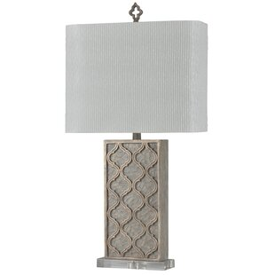 Compare & Buy Hiro Stone 31 Table Lamp By Bungalow Rose