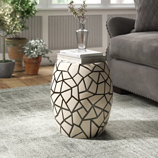Zaria Ice Ray Garden Stool by Brayden Studio