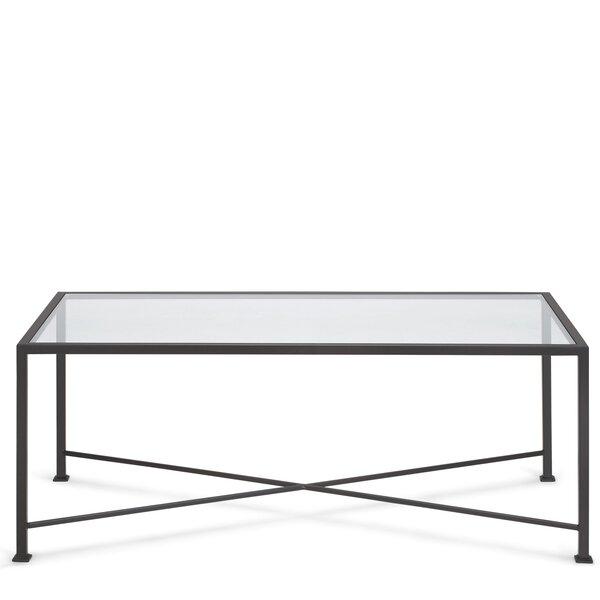 Diversey Glass Coffee Table by TAG