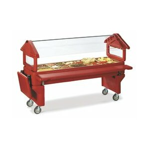 Six Star™ Bar Cart by Carlisle Food Service Products