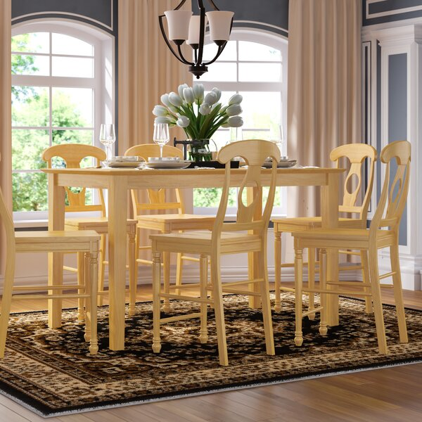 Smyrna 5 Piece Counter Height Pub Table Set by Charlton Home Charlton Home