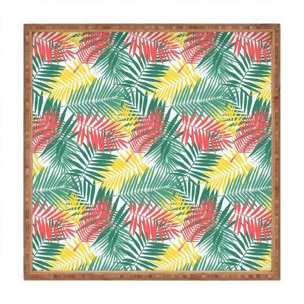 Palm Beachy Tray by East Urban Home