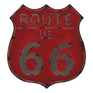 Route 66 Vintage Advertisement by Propac Images