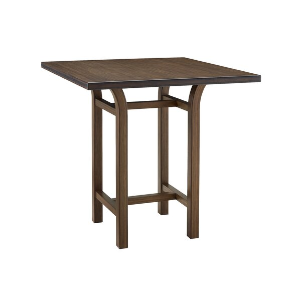 Molto Counter Height Solid Wood Dining Table by Latitude Run Latitude Run