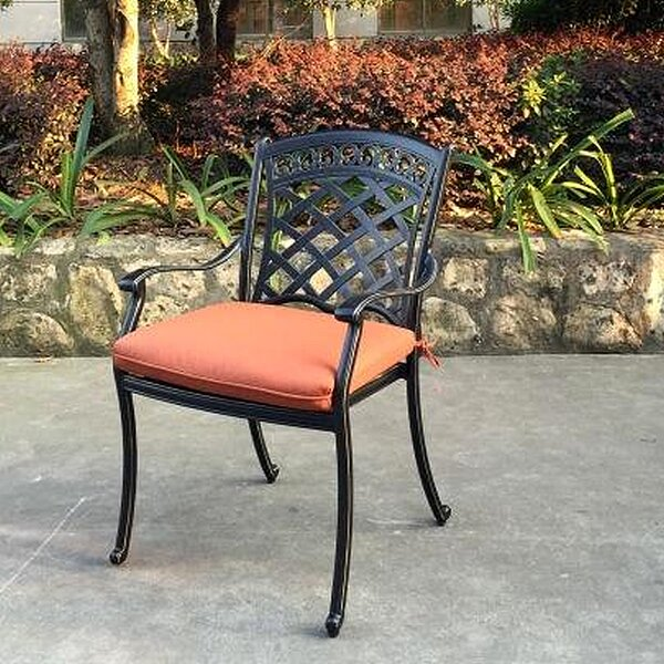 Comfortcare Stacking Patio Dining Chair With Cushion (Set Of 6) By Infinita Corporation