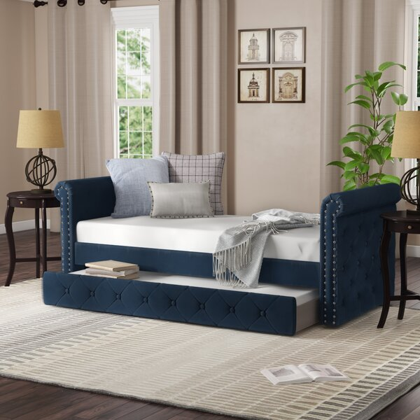 Seddon Twin Daybed With Trundle By Canora Grey