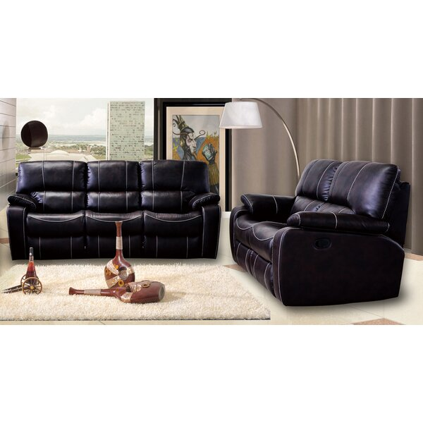 Looking for Agastya Reclining 2 Piece Leather Living Room Set By Red Barrel Studio Discount