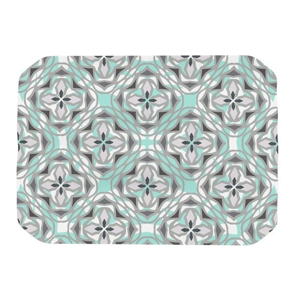 Winter Pool Placemat by KESS InHouse
