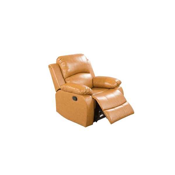 Tiphonnet Faux Leather Manual Lift Assist Recliner (Set of 2) W002161924