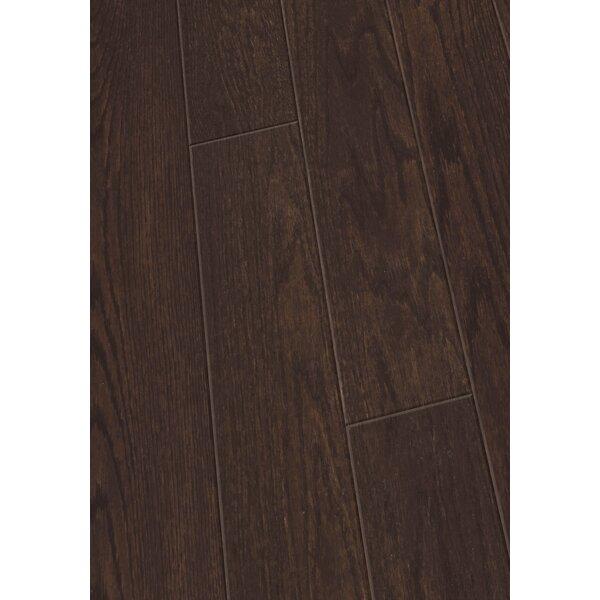 5 Engineered Oak Hardwood Flooring in Brushed Dark Chocolate by Maritime Hardwood Floors