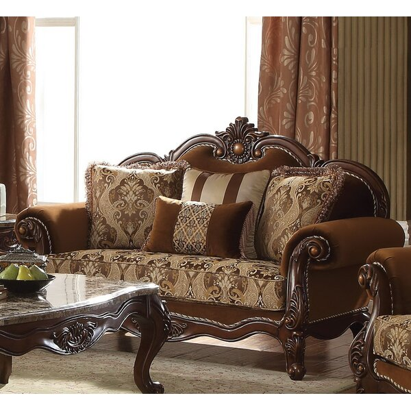 Discover Luxurious Alizeh Loveseat by Astoria Grand by Astoria Grand