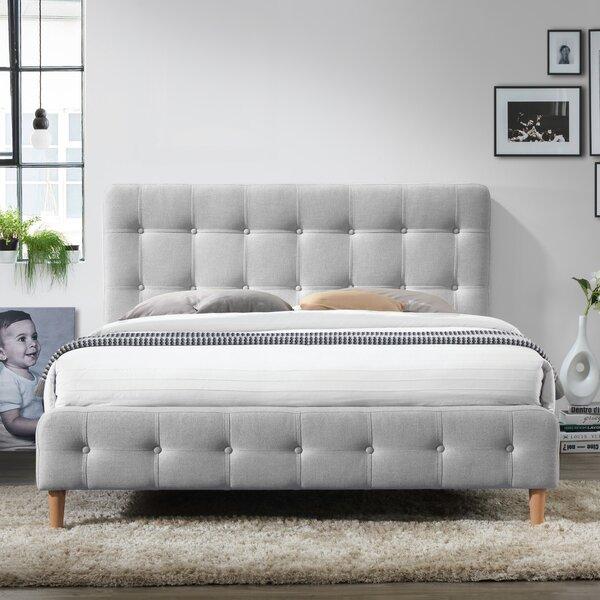 Gutman Queen Upholstered Platform Bed by Mercury Row