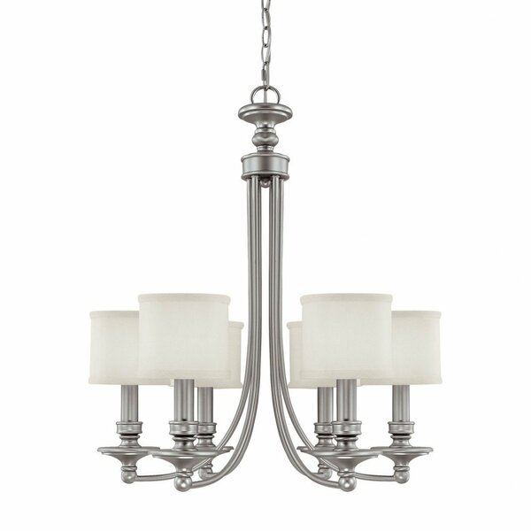 Osborne 6 - Light Shaded Classic / Traditional Chandelier by Charlton Home Charlton Home